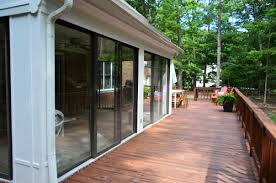 Sunroom On Existing Deck Open U0027er Up Converting A Sunroom Into A Veranda Young House Love