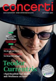 K Hen Berlin Concerti Ausgabe Berlin U0026 Brandenburg September 2017 By Concerti