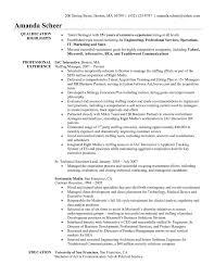 brilliant ideas of it recruiter sample resume example executive