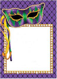 mardi gras paper printable border the goodness of goodies mardi