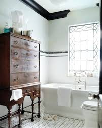 bathroom crown molding ideas black crown molding bathroom design with green gray walls
