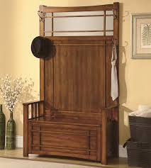 wood entryway coat rack and storage bench bedroom entryway coat