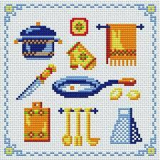 point de croix cuisine motif point de croix cuisine 6