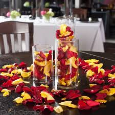 silk petals richland silk petals yellow 1000 count candles