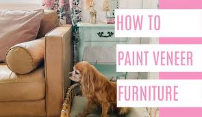 can chalk paint be used without sanding how to paint veneer furniture at home with