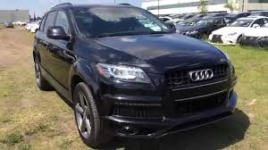all audi q7 pre owned black 2014 audi q7 quattro 3 0l tdi progressive s line
