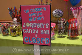 bat mitzvah sign in boards candy theme bat mitzvah innovative party planners