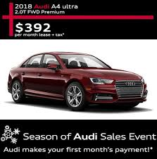 audi a4 lease specials audi lease specials boise low price car deals near na