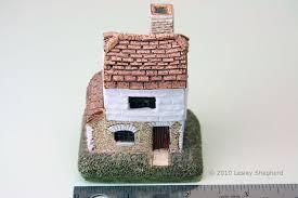 miniature buildings cottages and villages