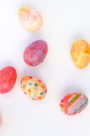 Easter Decorations With Plastic Eggs by Diy Easter Eggs Craft A Stylish Upgrade For Plastic Eggs