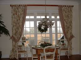 Dining Room Bay Window Treatments - living room bow window treatments cabinet hardware room color
