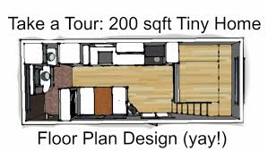 200 sq ft house plans 200sqft tiny home w bed and closet under the loft great