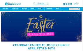60 church websites for easter church marketing