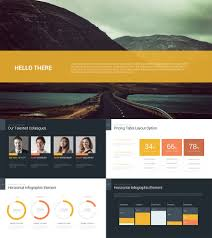 decker data rich powerpoint business pitch template adds and