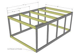 A Frame Plans Free by Ana White Chicken Coop Run For Shed Coop Diy Projects