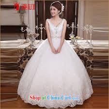 wedding dress version definition 2015 new wedding dresses v collar shoulder