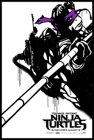 teenage mutant ninja turtles character posters released