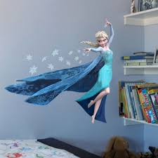 queen elsa frozen wall stickers olaf decorative wall decal cartoon generic frozen queen elsa adorable sweety home sticker decal diy family sticker pvc fashion wall