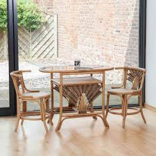 Indoor Wicker Dining Room Chairs Dinning Rattan Dining Room Furniture Outdoor Dining Chairs Bean