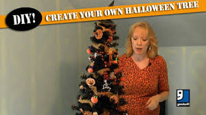 create your own halloween tree by goodwill home decor expert