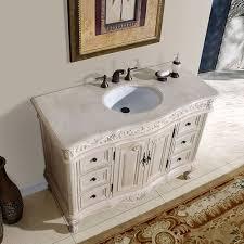 Plain  Inch Bathroom Vanity White  Vanities With Tops - White 48 inch bath vanity