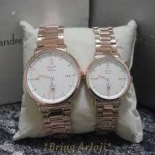 Jam Tangan Alba Pasangan jam tangan alexandre christie ac 8499 rosegold original