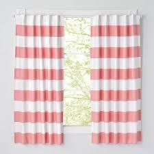 84 u0027 u0027 yellow and white striped curtain the land of nod