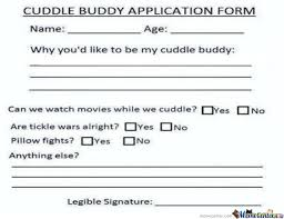 Cuddle Buddy Meme - who want s to be my cuddle buddy by rockgirl meme center