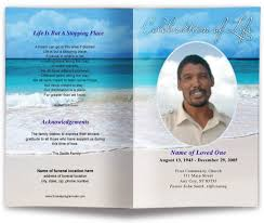 funeral phlet ideas funeral flyer easy custom designs