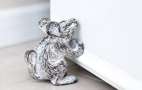 Decorative Door Stop by Amazon Com Cast Iron Mouse Decorative Door Stop Door Wedge