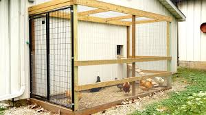 how we made our chicken coop run youtube