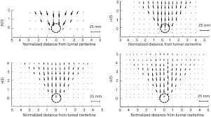analysis of tunneling induced ground movements using transparent