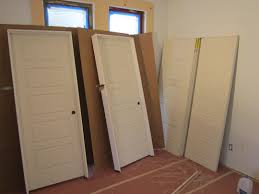 Installing Interior Doors How To Install Door Trim With Uneven Walls Interior Hanging