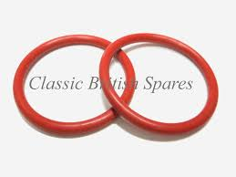triumph bottom push rod tube red o ring seal set