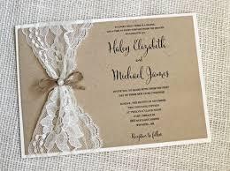 create your own wedding invitations diy rustic wedding invitations marialonghi
