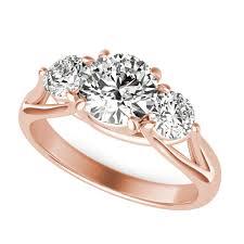 three stone engagement rings trellis three stone diamond engagement ring sku rd0409