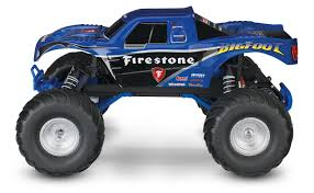 bigfoot monster trucks amazon com traxxas bigfoot 1 10 scale ready to race monster