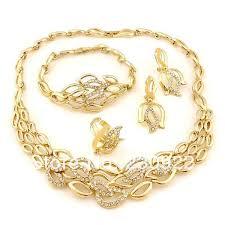 rhinestone necklace sets wholesale images 2014 colored rhinestone jewelry set pakistani bridal dubai gold jpg