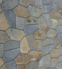 irregular random shape slate flooring types of