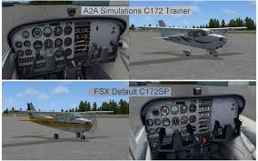 a2a simulations c172 trainer aircraft the avsim community