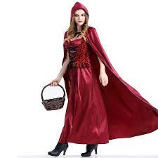 Red Witch Halloween Costume Layo Halloween Costume Red Riding Hood Queen Queen