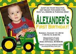 custom birthday invitations deere farm birthday invitations templates deere custom