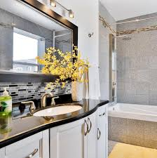 Backsplash Ideas For Bathrooms by Decorating Peel U0026 Impress Adhesive Vinyl Wall Tiles For Grey