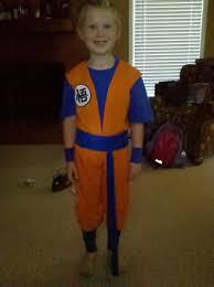 Saiyan Halloween Costume Goku Halloween Costumes
