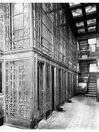 extravagant late 19th century original interior reliance office