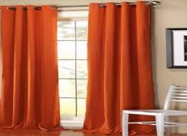 Red Orange Curtains Orange Curtains For With White Trim Living Room Traditional And