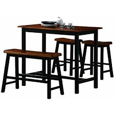 rectangle pub table sets rectangular pub tables amazon com
