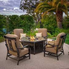 Members Mark Patio Furniture by Fire Pits U0026 Chat Sets Costco