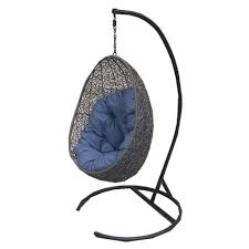 Swing Cushion Replacement Canada by Henryka Cw4307hc Hanging Chair With Cushion And Stand Lowe U0027s