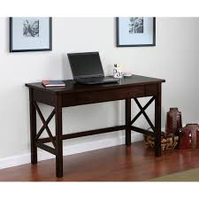 furniture light brown maple wood mobile computer table with